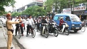 Đảm bảo an toàn khi tham gia giao thông