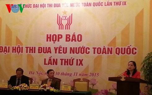 Đại hội Thi đua yêu nước toàn quốc lần thứ 9 sẽ chính thức khai mạc vào sáng mai tại Thủ đô Hà Nội. (Thời sự đêm 06/12/2015)