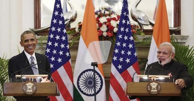 """Mỹ - Ấn Độ đẩy mạnh quan hệ """"đối tác tự nhiên"""""""