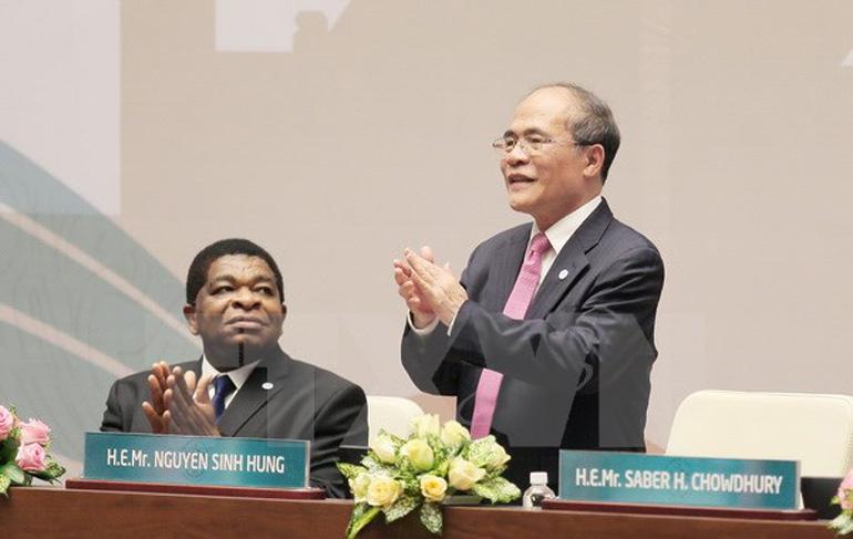 Thời sự chiều ngày 29/3/2015: Chủ tịch Quốc hội Nguyễn Sinh Hùng được bầu làm Chủ tịch Đại hội đồng Liên minh Nghị viện thế giới 132 và chủ trì phiên thảo luận chung của Đại hội đồng