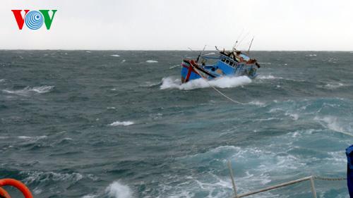 Biển đảo Việt Nam ngày 03/5/2015: Giải pháp để tàu cá vươn khơi an toàn trong mùa mưa bão..