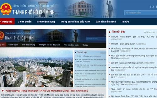 Thời sự chiều ngày 14/6/2015: Thành phố Hồ Chí Minh khai trương Trang thông tin Thành phố trên Cổng thông tin điện tử Chính phủ.