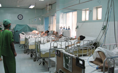 Thời sự đêm ngày 1/6/2015: Bộ Y tế yêu cầu các cơ sở khám chữa bệnh phải tăng cường chống nóng cho bệnh nhân và phòng chống dịch bệnh trong mùa hè.