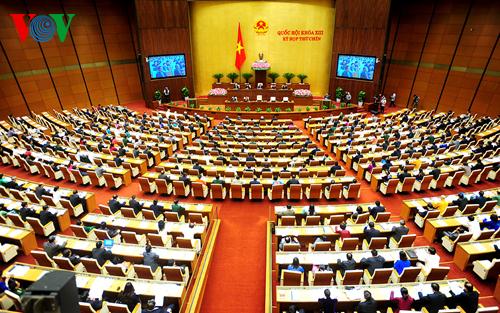 Minh bạch về trình tự thủ tục và đề cao trách nhiệm của các chủ thể trong quy trình xây dựng luật. (Quốc hội với cử tri ngày 22/6/2015)