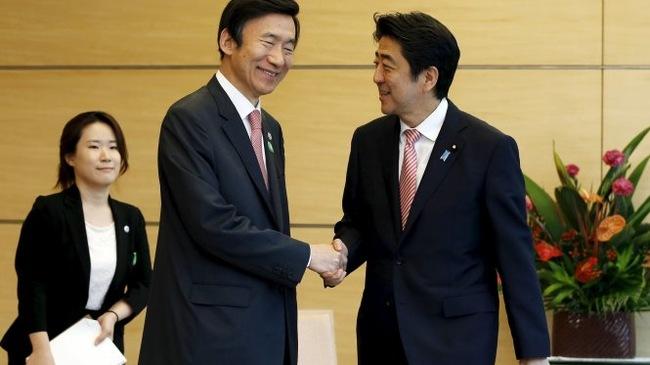 Thủ tướng Nhật Bản cam kết cải thiện quan hệ với Hàn Quốc.