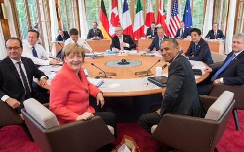 Kết thúc hội nghị thượng đỉnh G7- những vấn đề đặt ra.