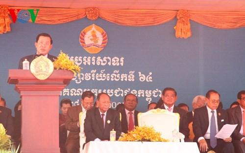 Đảng Nhân dân Campuchia kỷ niệm 64 năm ngày thành lập (Ngôi nhà ASEAN ngày 1/7/2015)