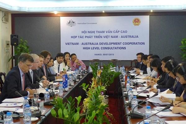 Hội nghị Tham vấn Cấp cao Australia – Việt Nam về hợp tác phát triển. (Bạn bè với Việt Nam ngày 13/7/2015)