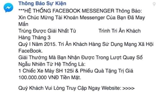 Tin nhắn rác và một số trò lừa đảo trên mạng xã hội (Không gian số ngày 22/7/2015)