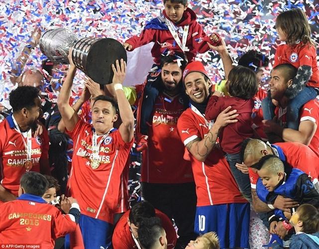 Chile đánh bại Argentina để lần đầu tiên vô địch Copa America 2015 (Thể thao cuối tuần ngày 5/7/2015)