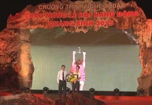 Thời sự sáng ngày 15/8/2015: Khai mạc Lễ hội hang động Quảng Bình 2015