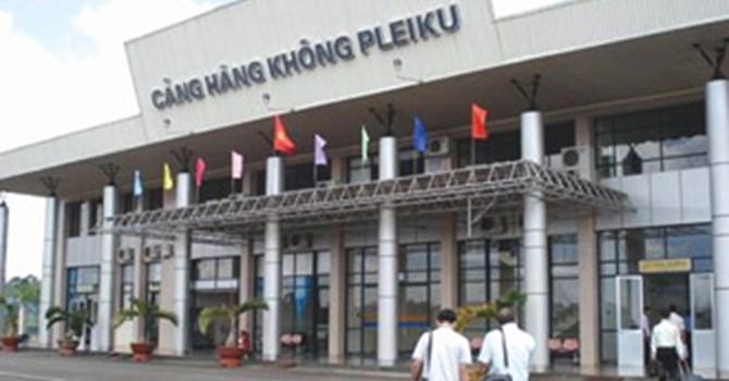 Hoàn thành nâng cấp dự án Cảng hàng không Pleiku