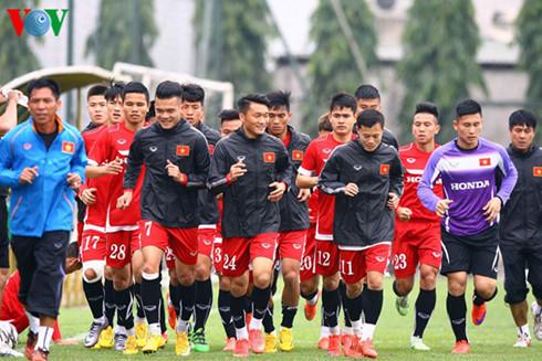 Đội tuyển Việt Nam sẵn sàng đá giao hữu với Indonesia (6/11/2016)