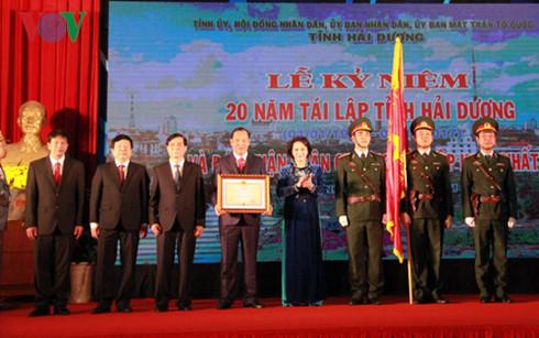 Thành phố Hải Dương kỉ niệm 20  năm tái lập tỉnh Hải Dương và đón nhận Huân chương độc lập hạng Nhất (Thời sự trưa 24/12/2016)
