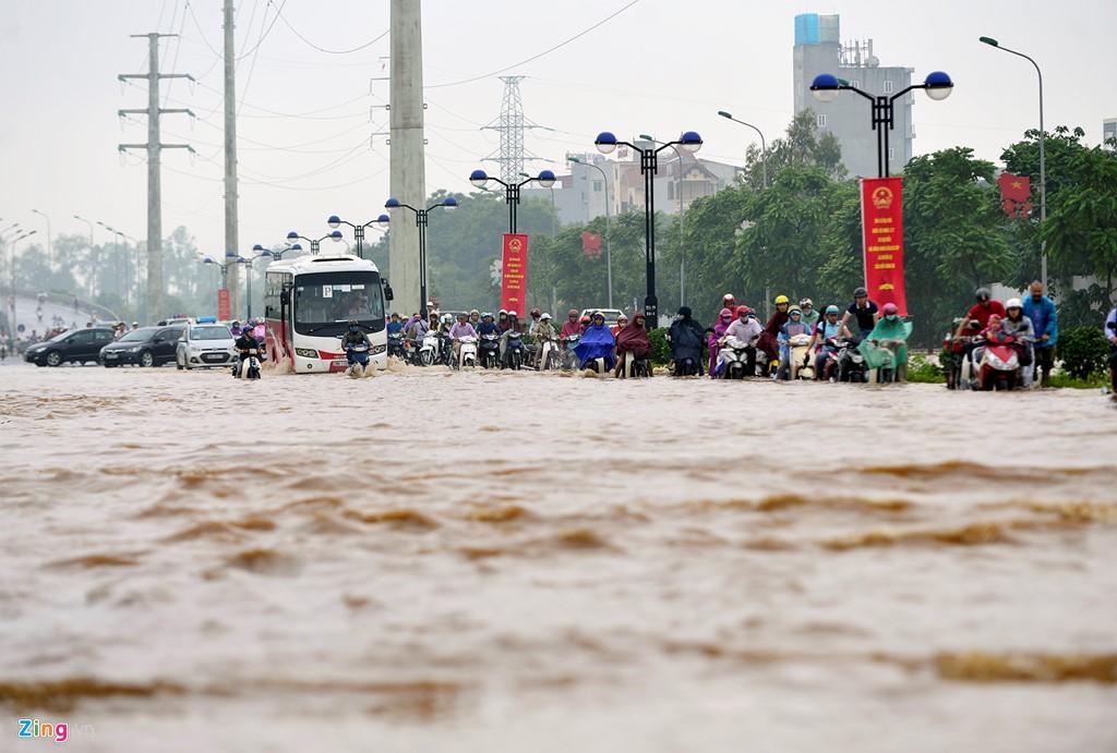 Hà Nội: Quy hoạch bất cập, ngập lụt sẽ còn tái diễn. (28/5/2016)