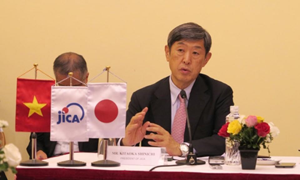 JICA tiếp tục tập trung hỗ trợ Việt Nam phát triển bền vững (12/9/2016)