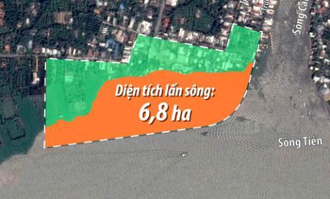 Bộ Tài nguyên và môi trường đề nghị tỉnh Tiền Giang dừng thi công Công viên trái cây (Thời sự sáng 2/11/2017)