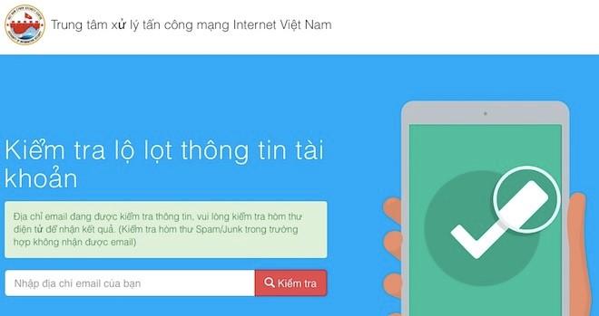 Cục An toàn thông tin, Bộ Thông tin và Truyền thông vừa phát triển thành công công cụ trực tuyến hỗ trợ việc kiểm tra nhanh tình trạng an toàn của các địa chỉ thư điện tử tại Việt Nam (Thời sự trưa 5/1/2018)