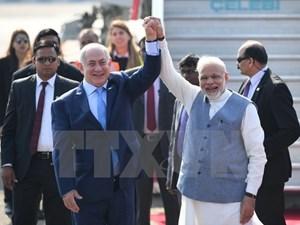 Chuyến thăm lịch sử của Thủ tướng Israel tới Ấn Độ (15/1/2018)