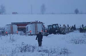 Nga tìm thấy 1 trong 3 chiếc hộp đen của chiếc máy bay xấu số gặp nạn vào chiều qua khiến 71 người thiệt mạng (Thời sự trưa 12/02/2018)