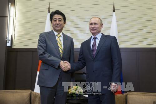 Kết quả chuyến thăm Nga của Thủ tướng Nhật Bản ShinzoAbe (28/5/2018)