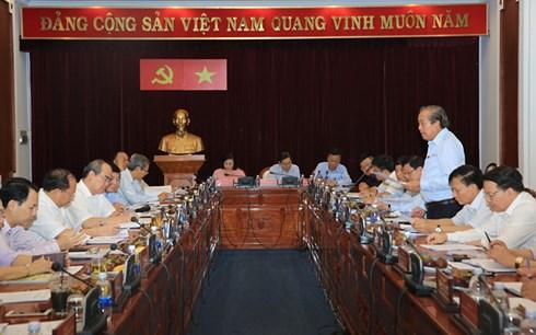 Phó Thủ tướng Thường trực Trương Hòa Bình thông báo dự thảo kết quả kiểm tra phòng chống tham nhũng tại thành phố Hồ Chí Minh (Thời sự đêm 27/5/2018)