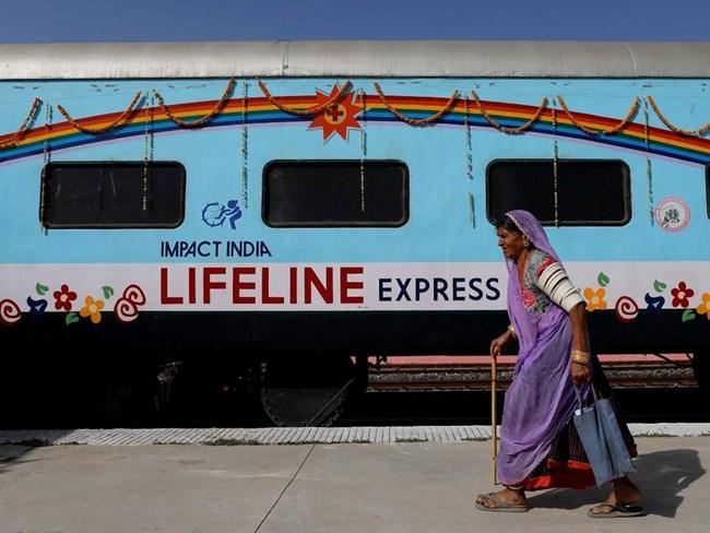 Lifeline Express – đoàn tàu bệnh viện đầu tiên trên thế giới (23/8/2018)
