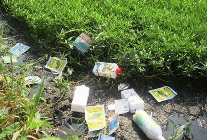 Tai hại thói quen dùng thuốc Bảo vệ thực vật của nông dân (11/8/2018)