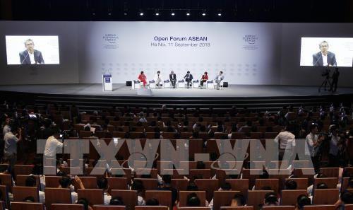 WEF ASEAN: Diễn đàn mở vì tương lai của Đông Nam Á (11/9/2018)