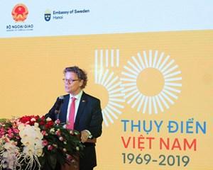 Những thành tựu sau 50 năm thiết lập quan hệ ngoại giao Việt Nam –Thụy Điển (17/1/2019)