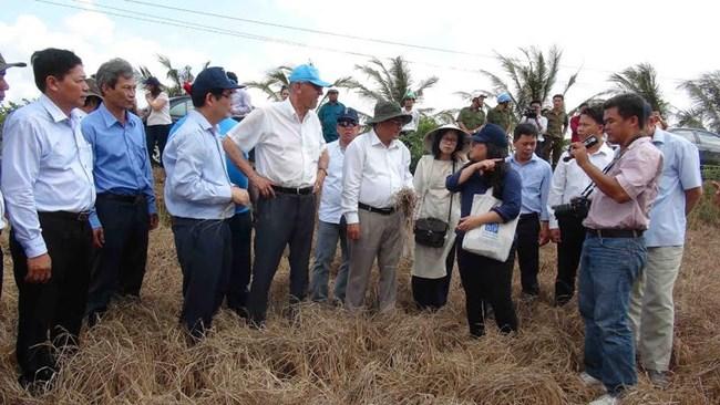Liên hợp quốc hỗ trợ người dân Việt Nam thích ứng với biến đổi khí hậu (28/1/2019)