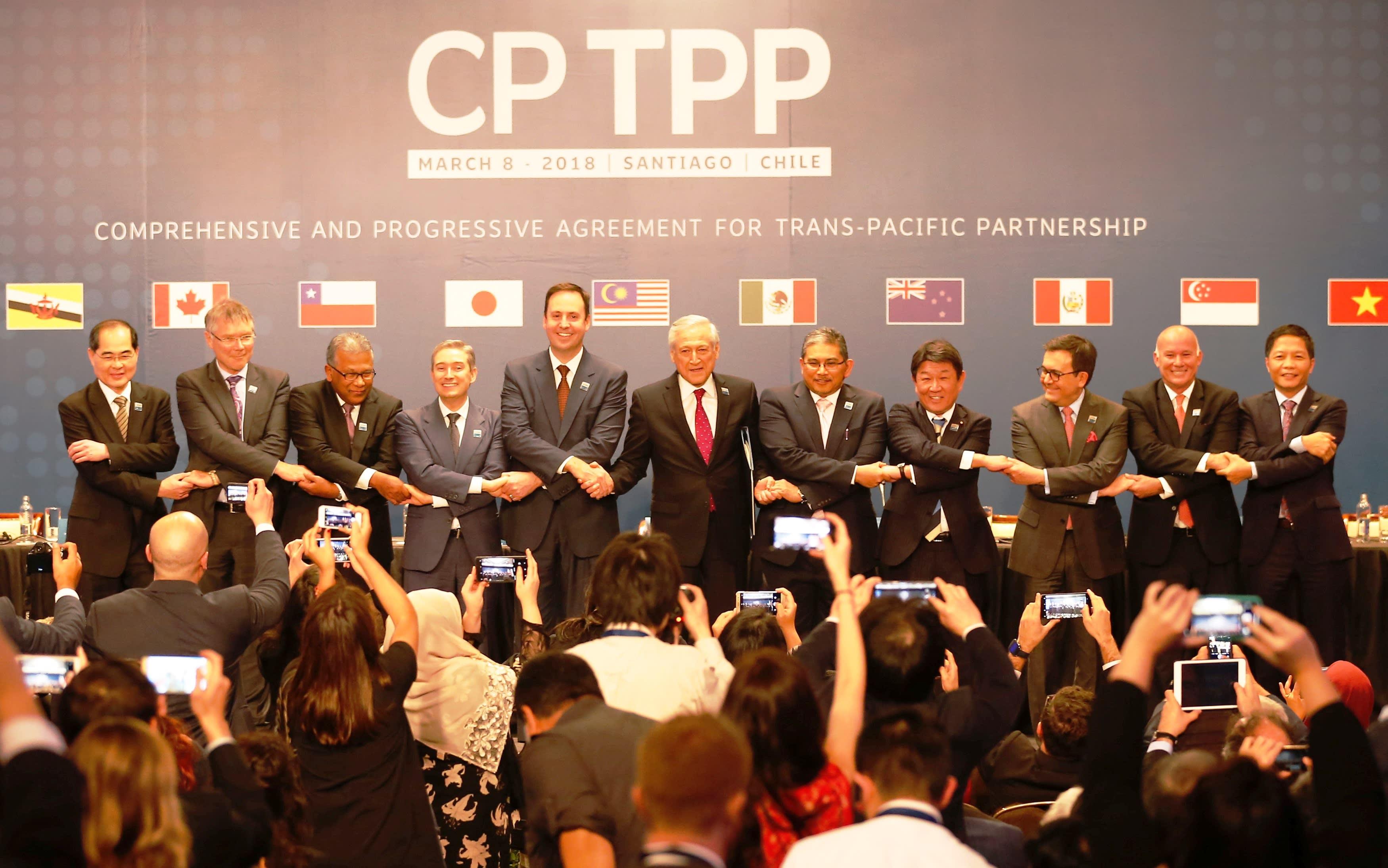 Hiệp định đối tác toàn diện và tiến bộ xuyên Thái Bình Dương (CPTPP) hoàn thiện thể chế kinh tế thị trường (22/1/2019)