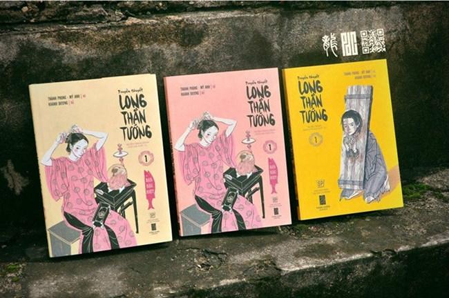 """""""Truyền thuyết Long Thần Tướng"""", bộ truyện tranh lịch sử kể về cuộc chiến đấu chống quân Nguyên Mông của triều đại nhà Trần (12/10/2019)"""