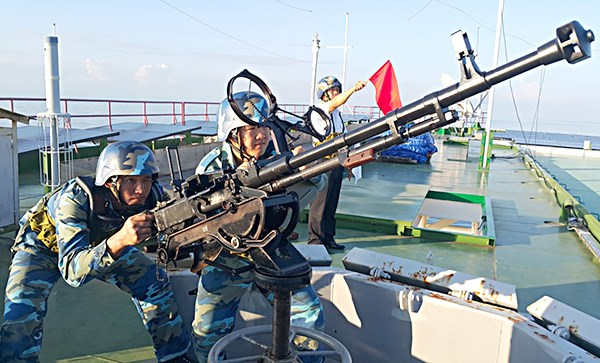 Ngọn cờ đầu trong phong trào thi đua quyết thắng Quân chủng hải quân (4/11/2019)