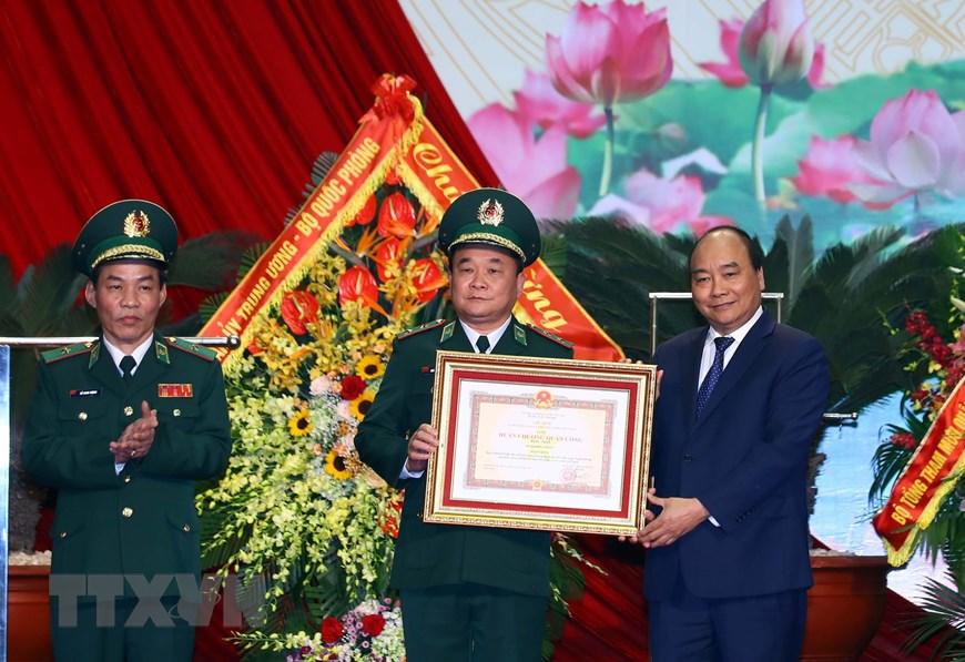 Thủ tướng Nguyễn Xuân Phúc dự Lễ kỷ niệm 60 năm Ngày truyền thống Bộ đội Biên phòng, 30 năm Ngày Biên phòng toàn dân và đón nhận Huân chương Quân công hạng Nhất (Thời sự trưa 2/3/2019)