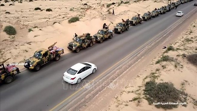 Vòng xoáy hỗn loạn mới ở Libi (9/4/2019)