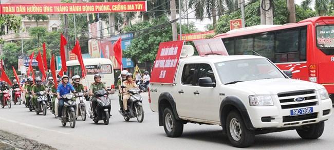 Phú Thọ: Chung tay phòng chống ma túy (25/6/2019)