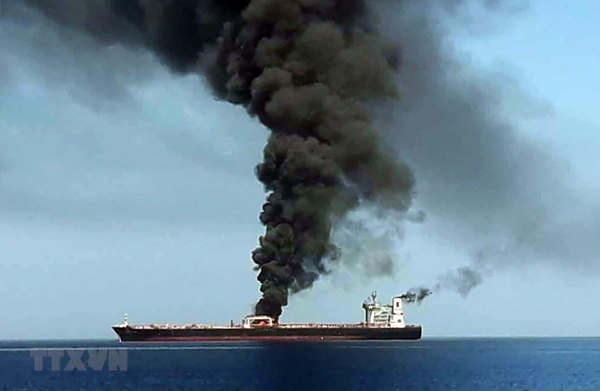 Căng thẳng Mỹ - Iran leo thang sau vụ tấn công tàu dầu trên vịnh Oman (18/6/2019)