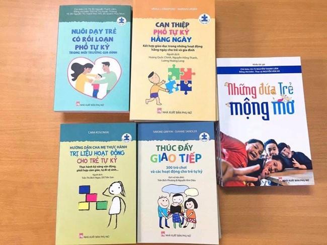 Bộ sách 5 cuốn dành cho trẻ tự kỷ (14/8/2019)