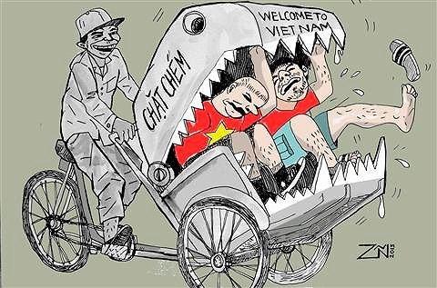Những hình ảnh xấu xí của du lịch Việt Nam: Không để