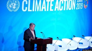 Hội nghị Thượng đỉnh về Biến đổi khí hậu: Hành động hơn cam kết (24/9/2019)