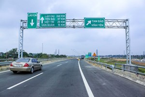 Cao tốc Hà Nội - Lào Cai: Nhiều bất cập về an toàn giao thông (6/9/2019)