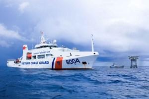 Bảo vệ môi trường biển là trách nhiệm của mỗi cán bộ chiến sỹ tàu cảnh sát biển 8004 (12/9/2019)