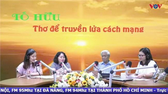 Tố Hữu - Thơ để truyền lửa cách mạng ( 4/10/2020)