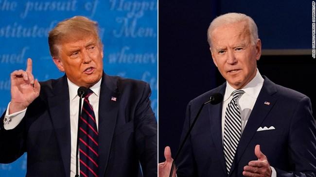 Cuộc tranh luận cuối cùng trước ngày bầu cử giữa hai ứng cử viên Tổng thống Mỹ (23/10/2020)