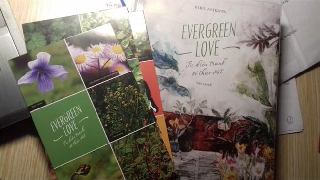"""Cuốn tiểu thuyết """"Evergreen Love – Từ điển tranh về thực vật"""" của nữ tác giả người Nhật Bản Hiro Arikawai (21/10/2020)"""