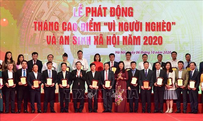 Tháng cao điểm vì người nghèo và an sinh xã hội thành phố Hà Nội năm 2020 (6/10/2020)