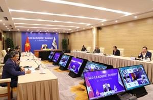 THỜI SỰ 6H00 SÁNG 23/11/2020: Tham dự phiên thảo luận thứ hai Hội nghị thượng đỉnh G20 trực tuyến, Thủ tướng Nguyễn Xuân Phúc kêu gọi các quốc gia đoàn kết, xây dựng lòng tin, thực tâm hợp tác và chia sẻ trách nhiệm chung, hướng tới phát triển bền vững, bao trùm và có sức chống chịu
