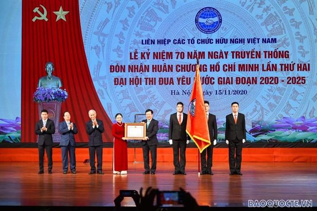Liên Hiệp các tổ chức hữu nghị Việt Nam – 70 năm hình thành và phát triển (16/11/2020)