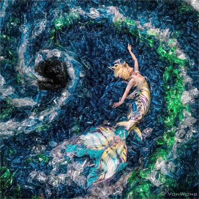 Dự án sử dụng rác thải để tạo thành các tác phẩm nghệ thuật của một nghệ sĩ Hàn Quốc (3/12/2020)